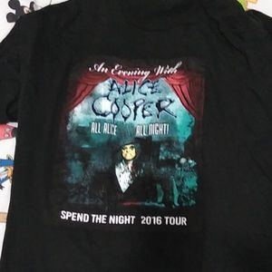 Other - Alice Cooper tour shirt